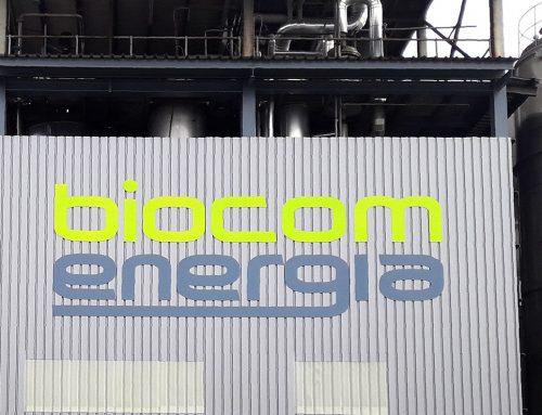 Rotulación para Biocom Energía