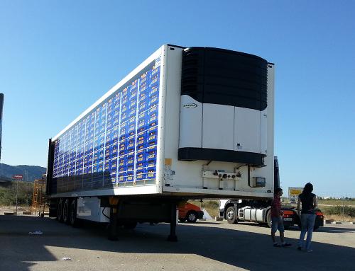 Rotulación remolque camión
