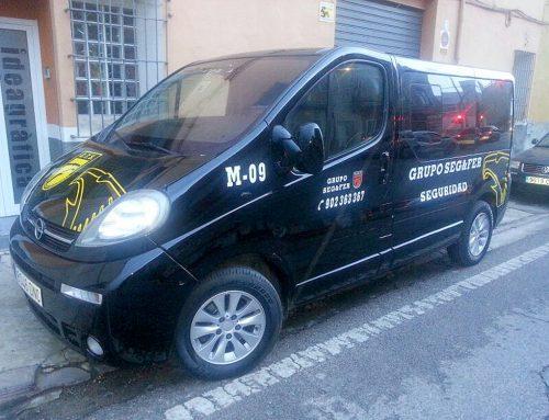 Rotulación vehículo de empresa